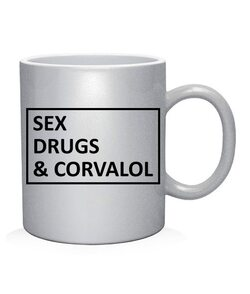 Чашка арт sex drugs & corvalol
