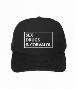 Кепка тракер sex drugs & corvalol